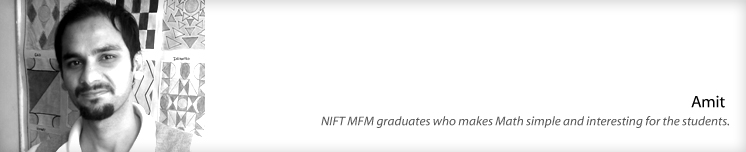 Amit, NIFT graduate and Afd India faculty