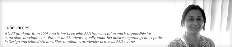 Julie James, Afd India faculty
